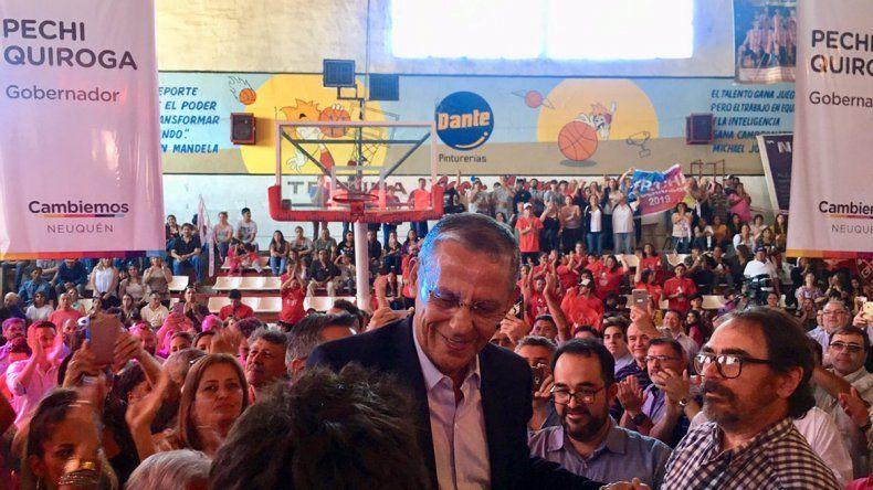 Pechi Quiroga se lanzó como candidato a gobernador