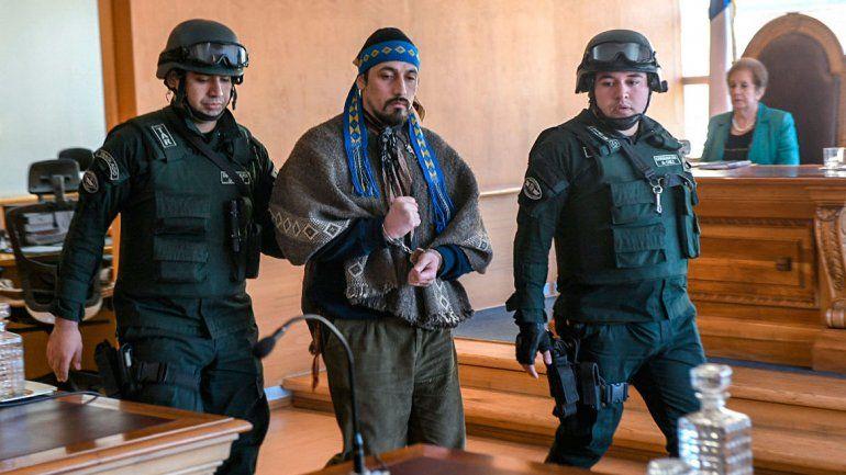 Jones Huala fue condenado en Chile por incendiar una vivienda