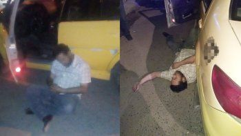 taxista manejaba borracho y termino chocando