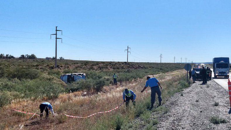 Otra muerte en la Ruta 22: perdió el control de su vehículo, dio varios tumbos y murió