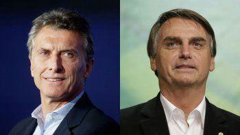 macri acordo reunirse con bolsonaro en enero