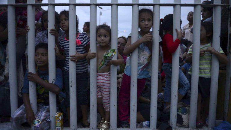 Murió una nena que había sido detenida por cruzar la frontera