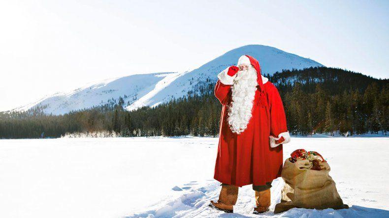 Se puede seguir el viaje de Papá Noel por la web