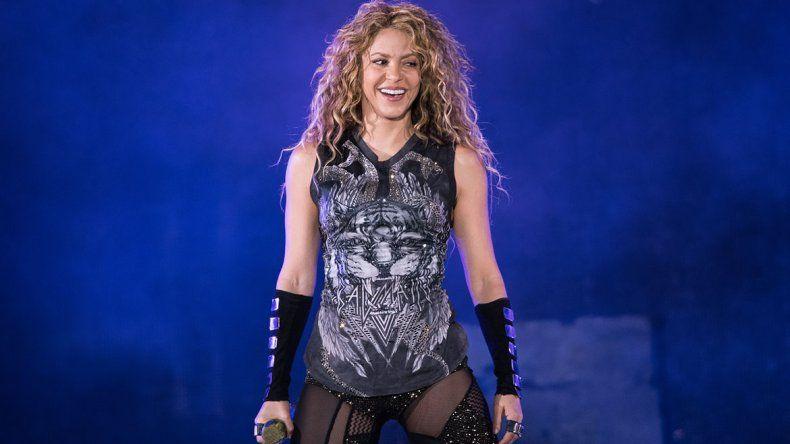Shakira, al horno