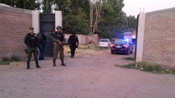 realizaron tres allanamientos por red narco en el alto valle