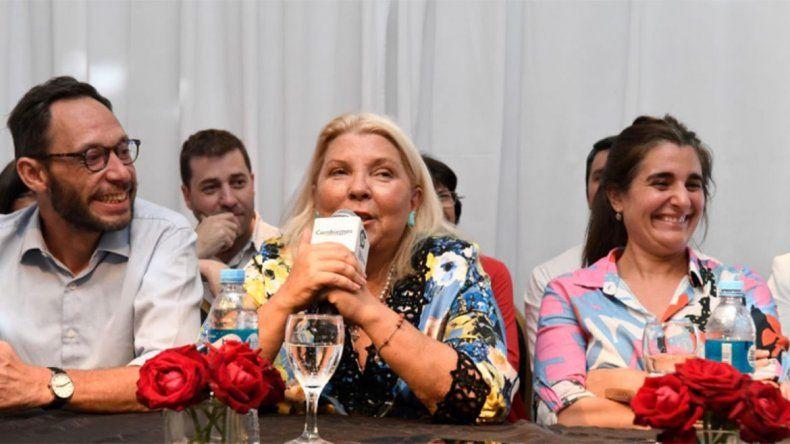 Lilita Carrió: Nosotros somos Cambiemos pero no somos corruptos