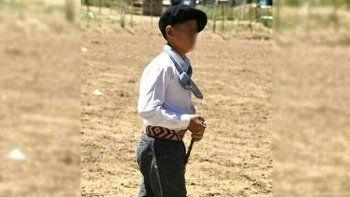 un domador de 14 anos murio aplastado por un caballo en una fiesta gaucha