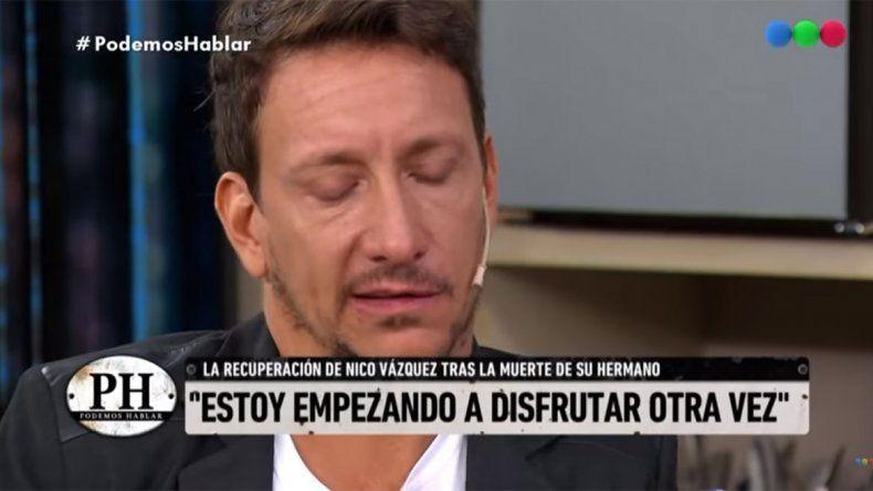 La emoción de Nico Vázquez al recordar a su hermano
