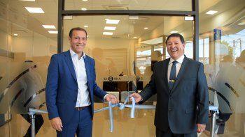 inauguro la primera sucursal digital de banco nacion