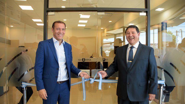 Se inauguró en Neuquén la primera sucursal digital del Banco Nación en el interior