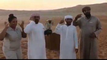 video: arabes se sumaron y confirmaron la locura del pity