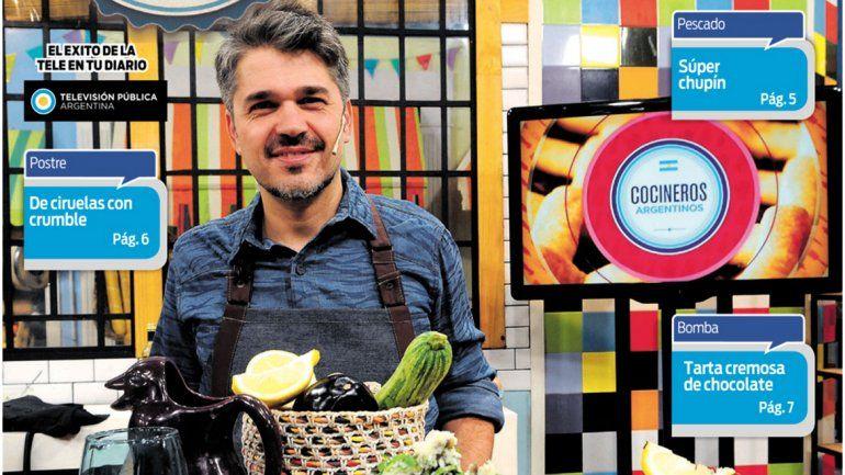 Cocineros Argentinos te enseña a cuidarte pero comiendo rico