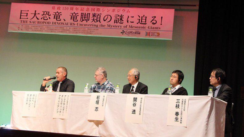 Neuquén, presente en simposio sobre dinos en Japón