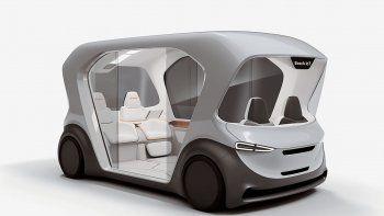 como seran los taxis del futuro segun el nuevo shuttle concept