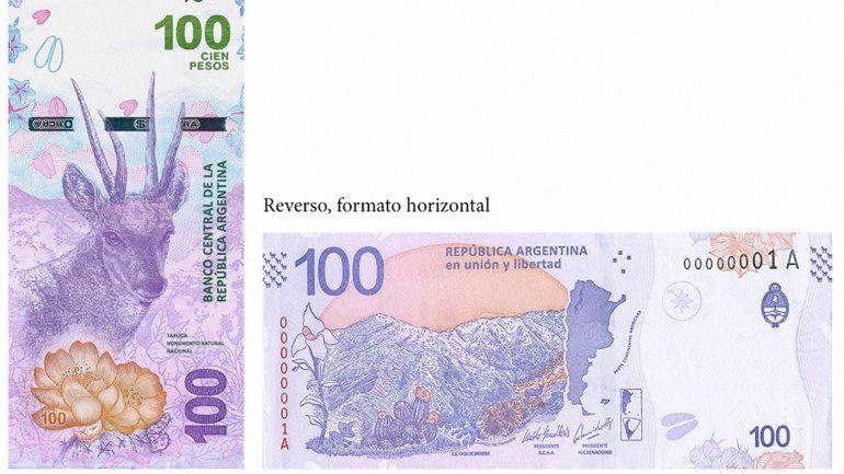 Así es el nuevo billete $100 que ya circula en el país