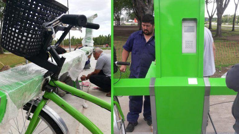 Arrancan las bicis gratis para pasear en los balnearios