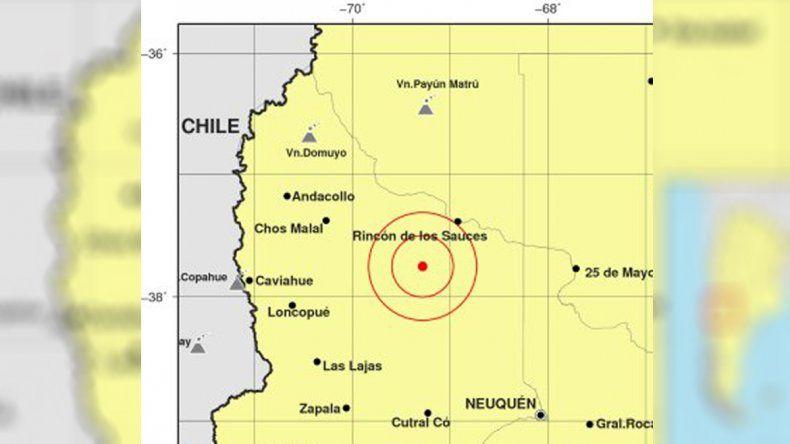 Un nuevo sismo asustó a vecinos de Sauzal Bonito