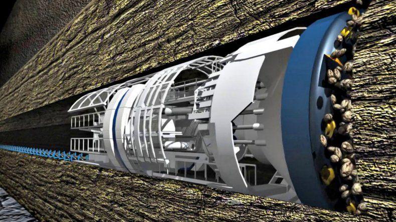 Musk presentó un túnel bajo suelo para evitar el tráfico