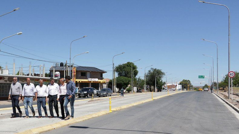 Pechi destacó las obras que hizo y confirmó que el Metrobús estará listo en febrero