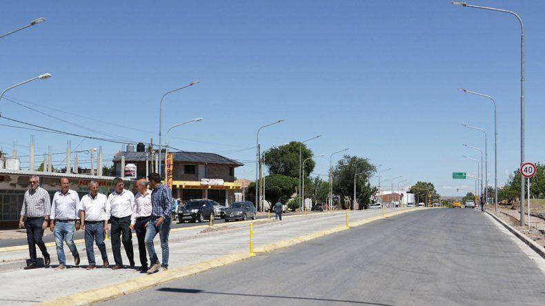 Pechi celebró que la Muni terminó su parte del Metrobús