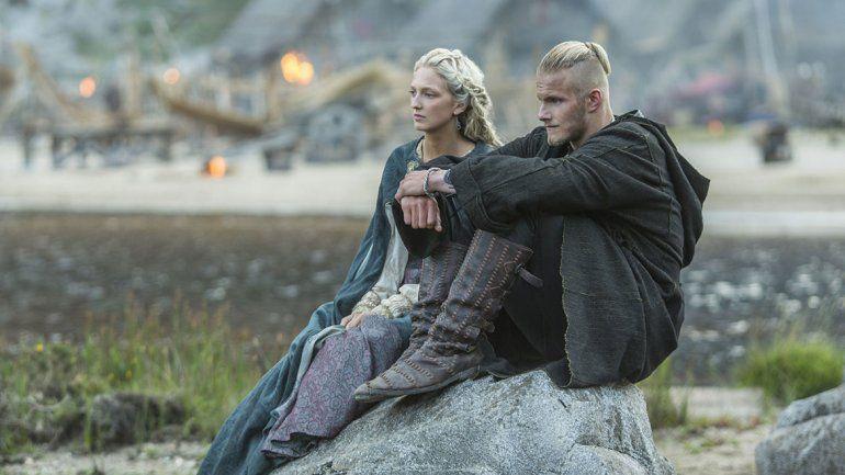 El furor por series vikingas llegó al Registro Civil