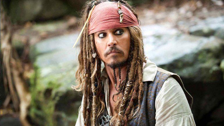 Johnny Depp se quedó afuera de Piratas del Caribe