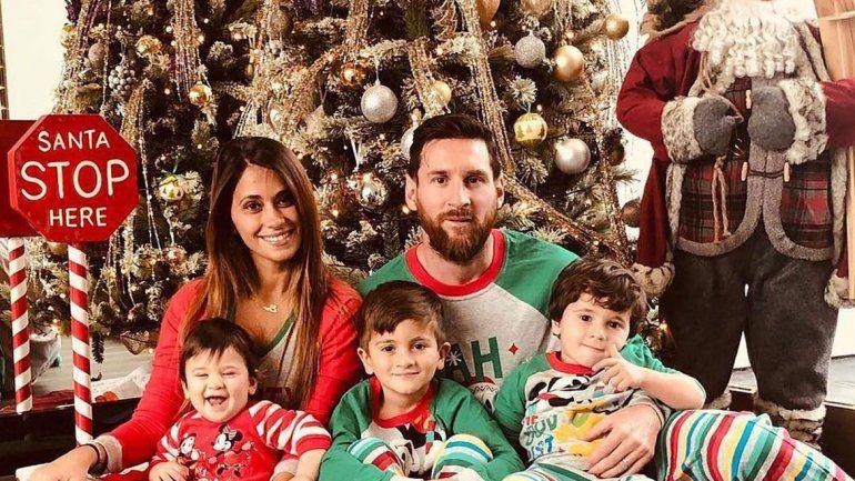 Messi sufre por el regalo de Reyes que le hizo Suárez a uno de sus hijos
