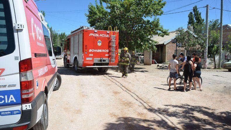Familiares incendiaron la casa del joven que mató a su novia