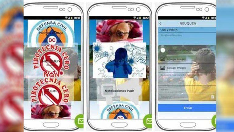 Una Asociación Civil creó una app para denunciar pirotecnia ilegal
