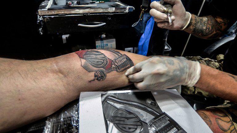 El Boom De Los Tatuajes De River En La Región Copa Libertadores
