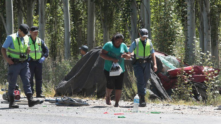 El peor inicio de año: tres muertos tras un gravísimo accidente sobre la Ruta 7
