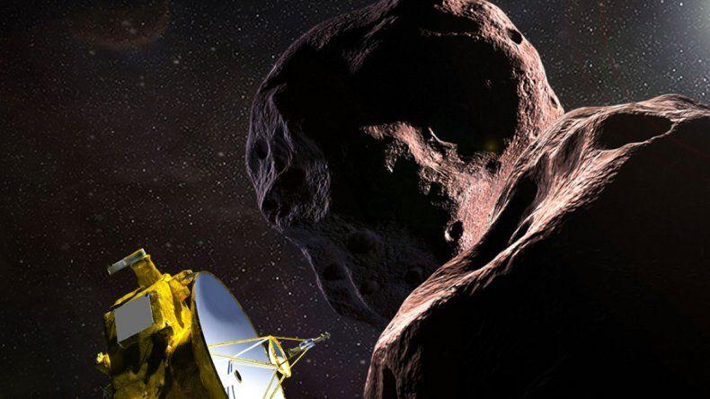 La NASA sobrevoló el cuerpo celeste más lejano