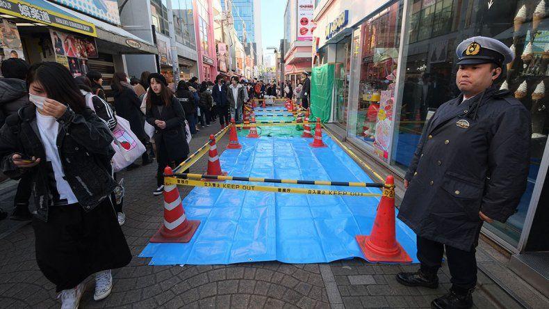 Un japonés embistió a una multitud en Tokyo