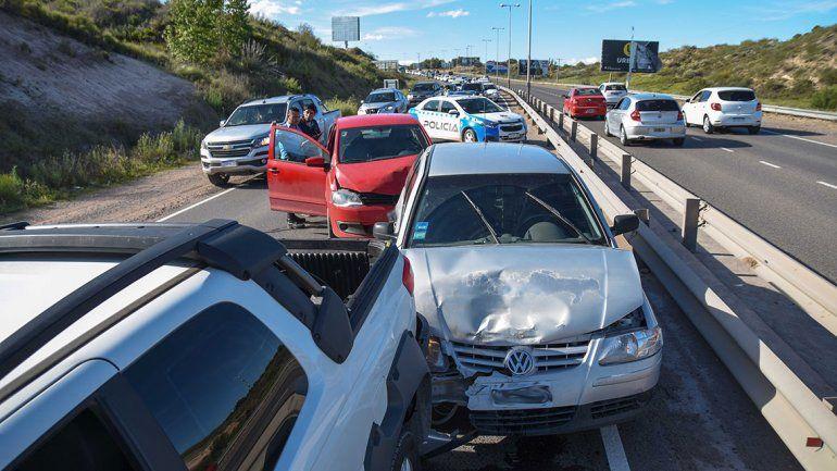 Una tasa de accidentes mayor a la media nacional