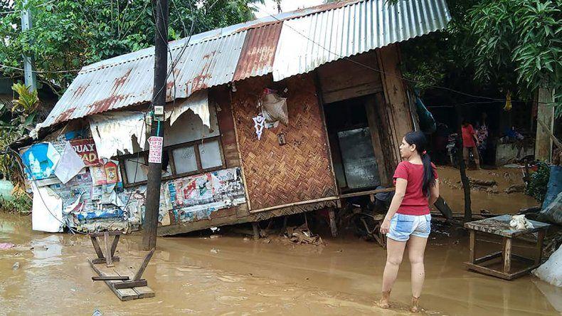 Filipinas: 85 muertos y 20 desaparecidos tras el tifón Usman