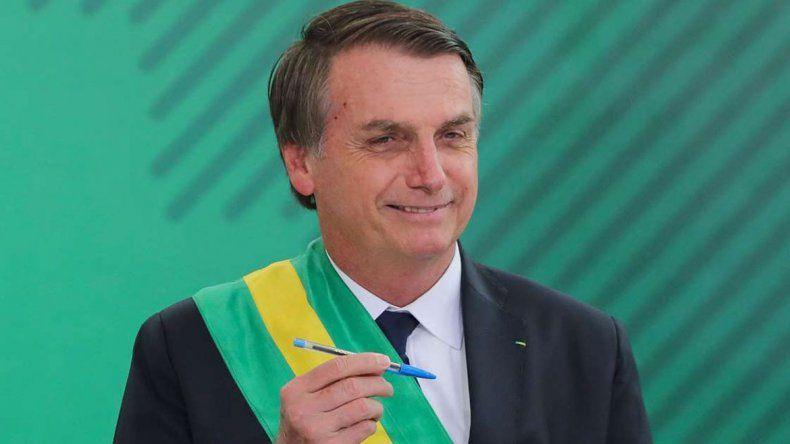 Jair Bolsonaro dijo que EE.UU. podría montar una base militar en Brasil