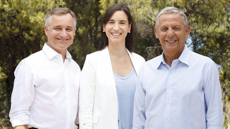 Pechi presentó a Schlereth como su candidato a vicegobernador