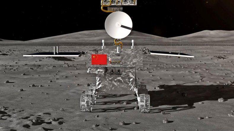 China alunizó con éxito en  la cara oculta de la Luna
