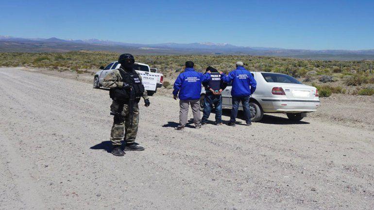 Un narco chileno se escondía en una zona cerca de Zapala
