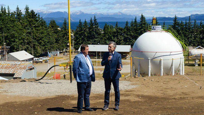 Macri inauguró obras del gasoducto cordillerano