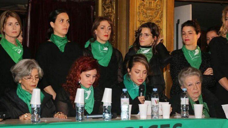 La insólita denuncia en contra del colectivo de actrices