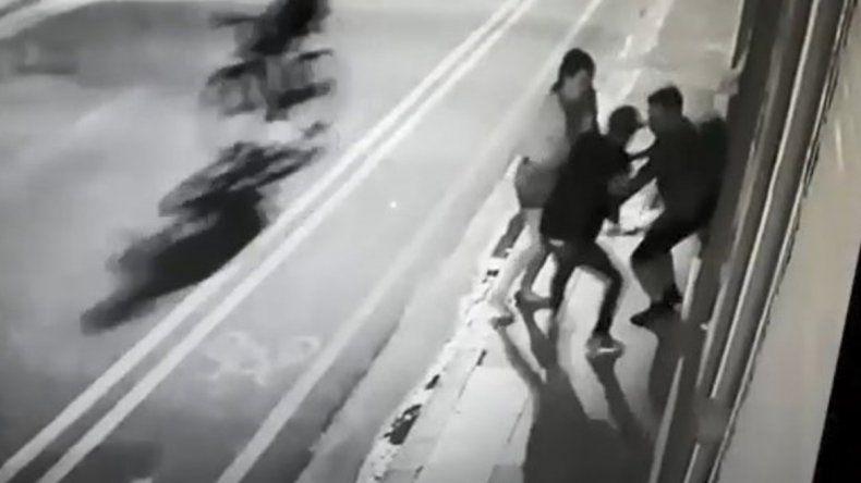 Así balearon al turista sueco al que tuvieron que amputarle una pierna