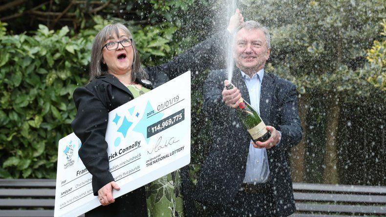 Una pareja ganó 144 millones de dólares en la lotería europea