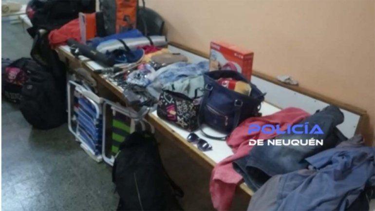 La banda de San Martín asaltó a cinco turistas en menos de 24 horas