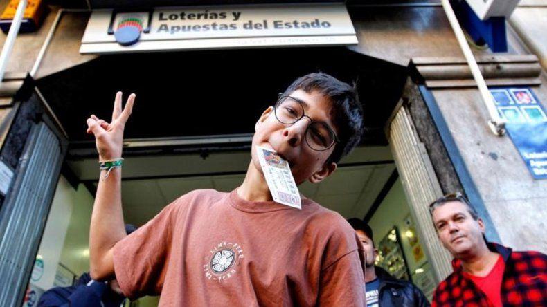 España: un chico ganó la Lotería de Reyes