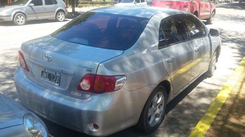 Alquilaron un auto y fueron a San Martín a robarles a turistas