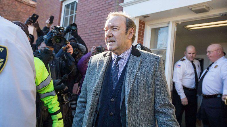 Kevin Spacey se declaró inocente y pagó una fianza para quedar libre