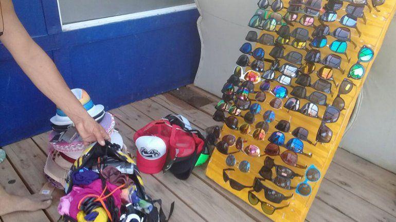 Vendedores senegaleses resistieron una inspección municipal en Las Grutas