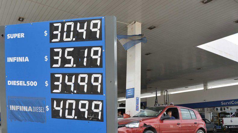 Cayó hasta un 8%  el consumo de naftas en la región