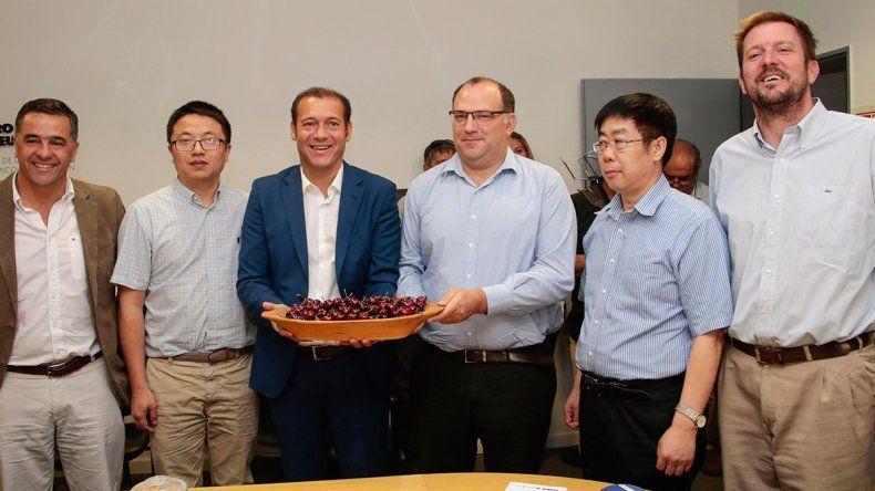 Las cerezas neuquinas ya partieron rumbo a China